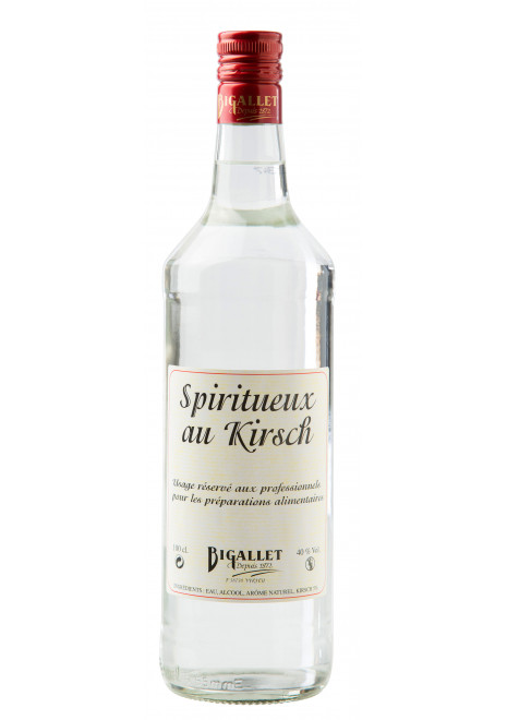 Spiritueux au kirsh
