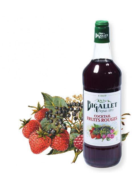 Sirop de cocktail Fruits Rouges