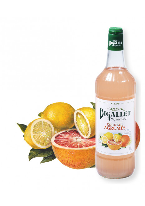 Sirop de Cocktail Agrumes