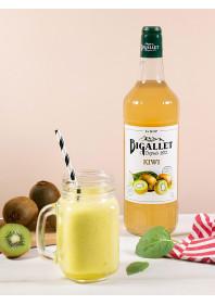 Smoothie Ananas, Kiwi, Basilic