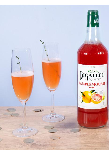 Cocktail Prosecco, Pamplemousse et Thym