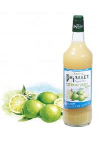 """Sirop de Citron Pulpes BJ """"sans sucre"""""""