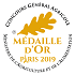 medaille or 2019