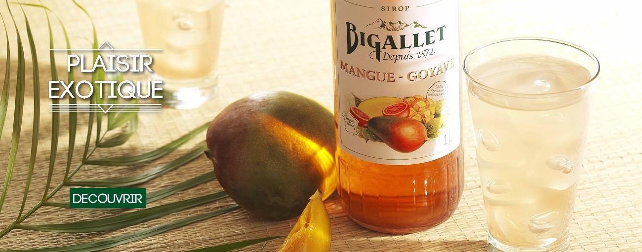 sirop mangue goyave