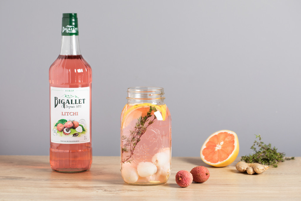 Mocktail : Eau de fruits détox