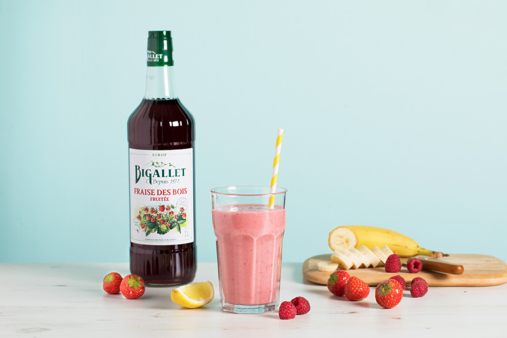 Mocktail : Smoothie santé aux fruits rouges