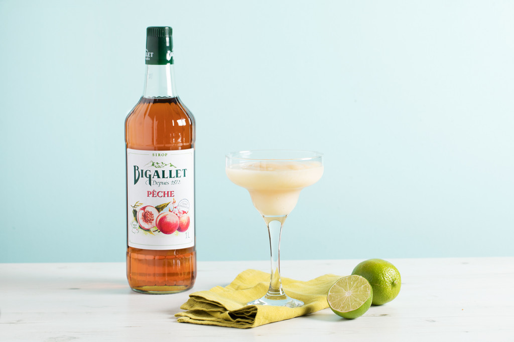 Cocktail : Frozen margarita pêche