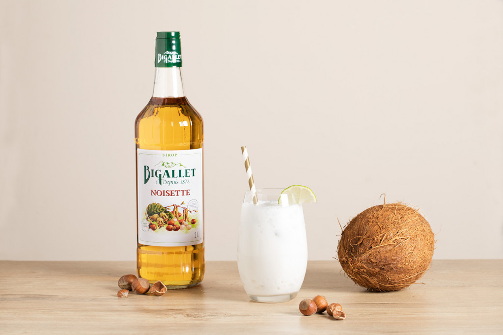 Cocktail : Cocktail coco loco noisette